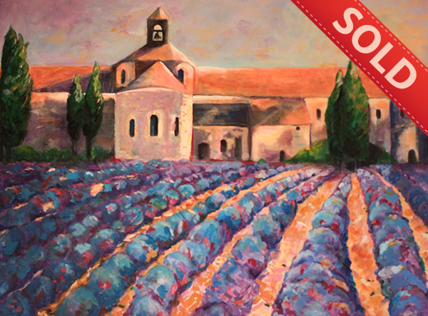 <b>Lavender field in Provence</b>